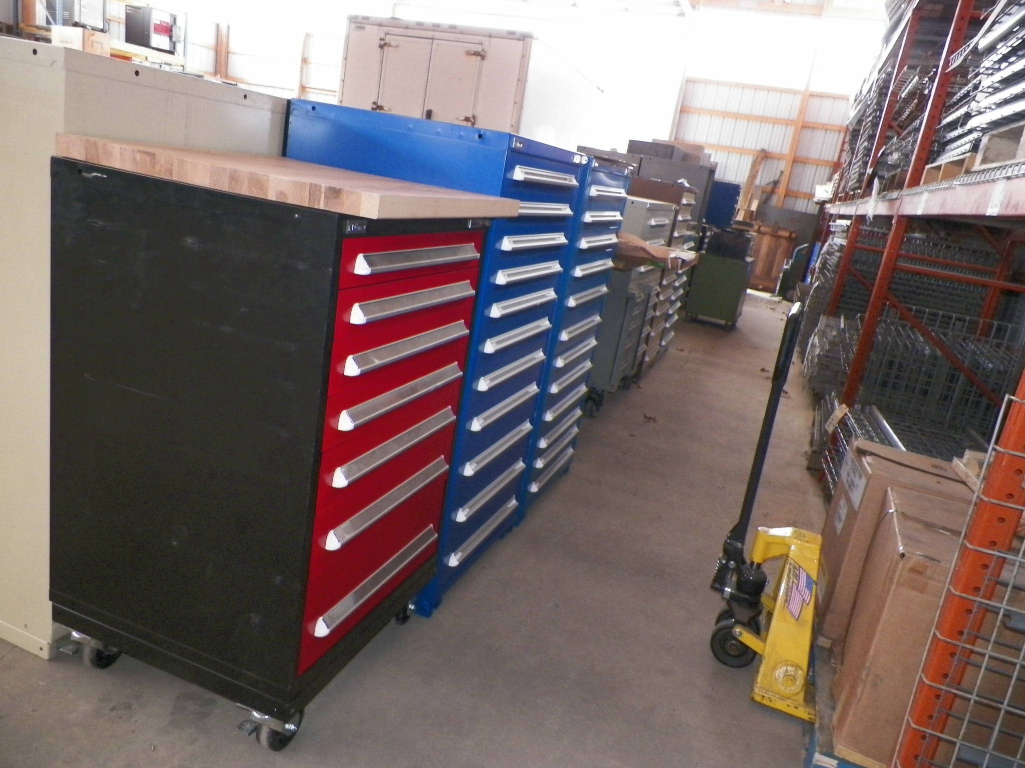 Like New Stanley Vidmar Tooling Cabinets Star Maintenance